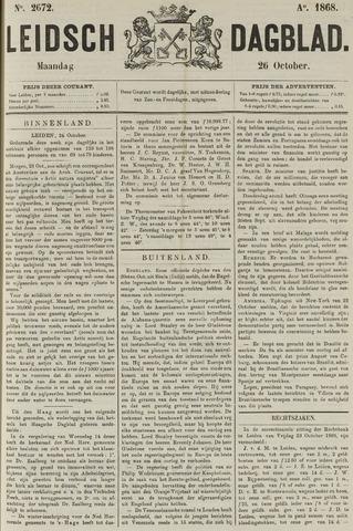 Leidsch Dagblad 1868-10-26