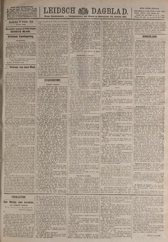 Leidsch Dagblad 1919-10-16