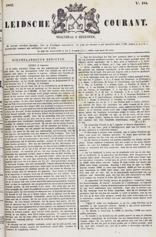 Leydse Courant 1882-08-09