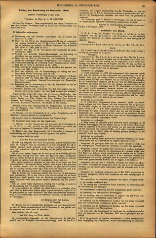 Handelingen van de Raad 1893-12-14