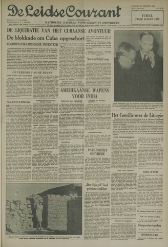Leidse Courant 1962-10-30