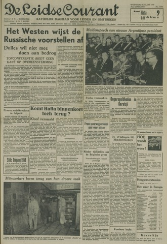 Leidse Courant 1958-03-05