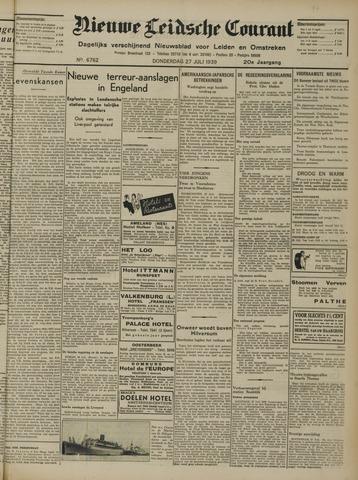 Nieuwe Leidsche Courant 1939-07-27