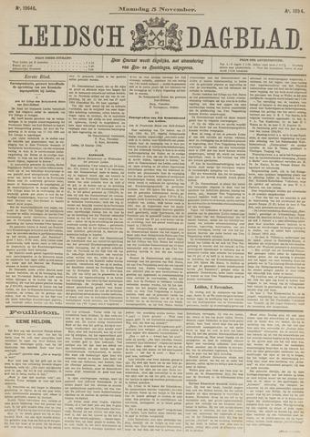 Leidsch Dagblad 1894-11-05