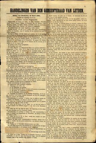 Handelingen van de Raad 1862-03-13