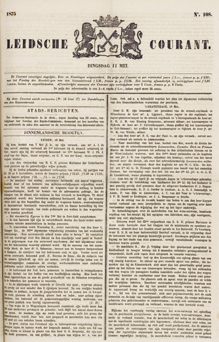 Leydse Courant 1875-05-11