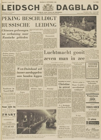 Leidsch Dagblad 1963-09-06