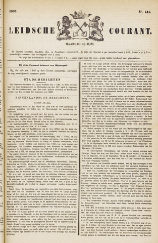 Leydse Courant 1883-06-18