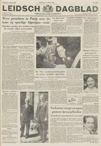 Leidsch Dagblad 1959-04-21