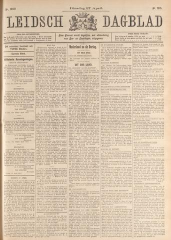 Leidsch Dagblad 1915-04-27