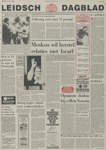 Leidsch Dagblad 1985-07-19