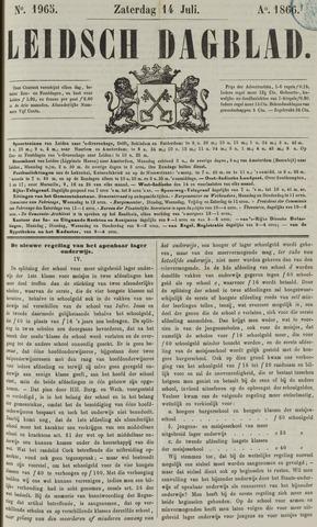 Leidsch Dagblad 1866-07-14