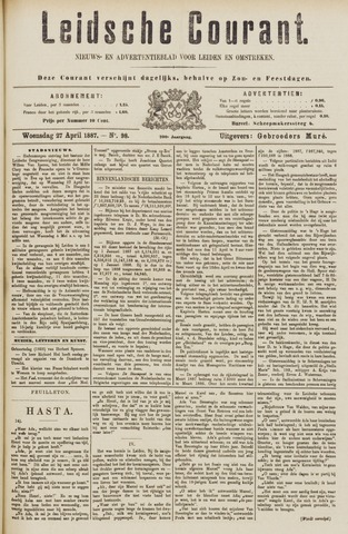 Leydse Courant 1887-04-27