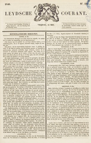 Leydse Courant 1846-05-15