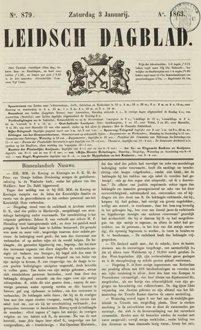 Leidsch Dagblad 1863-01-03