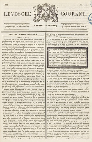 Leydse Courant 1846-01-26