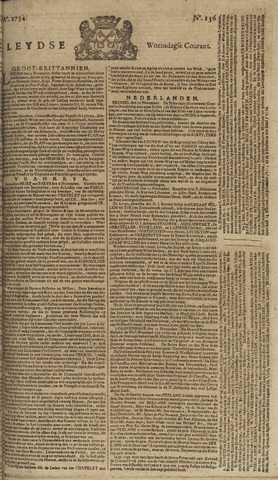 Leydse Courant 1754-11-13