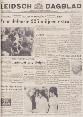 Leidsch Dagblad 1968-11-19