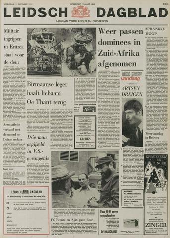 Leidsch Dagblad 1974-12-11