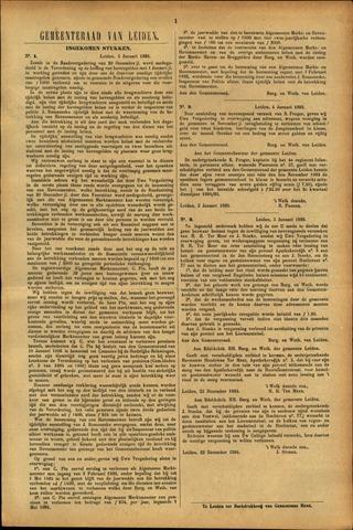 Handelingen van de Raad 1895-01-03
