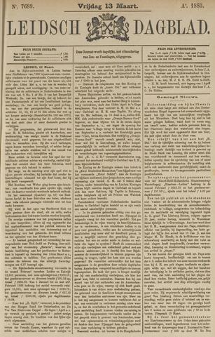 Leidsch Dagblad 1885-03-13