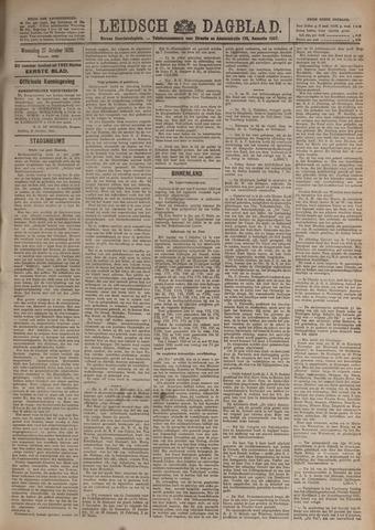 Leidsch Dagblad 1920-10-27