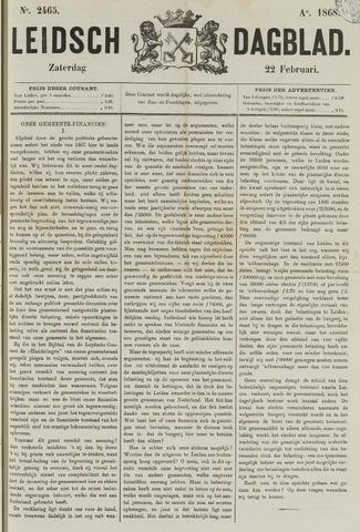 Leidsch Dagblad 1868-02-22