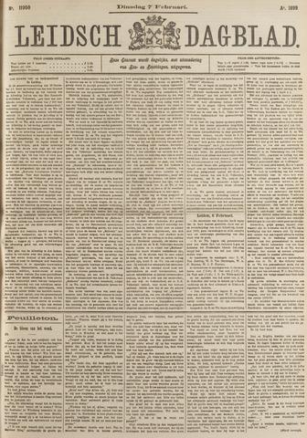Leidsch Dagblad 1899-02-07