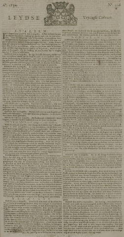 Leydse Courant 1734-09-03