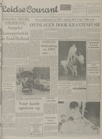 Leidse Courant 1971-08-25