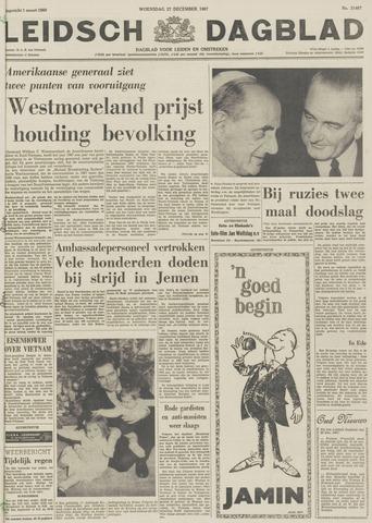 Leidsch Dagblad 1967-12-27