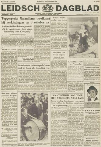 Leidsch Dagblad 1959-09-09