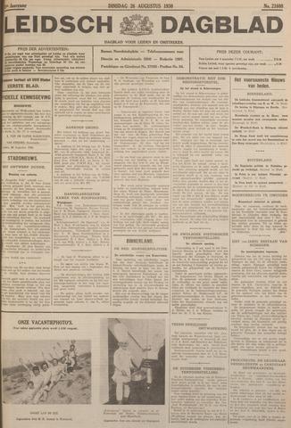 Leidsch Dagblad 1930-08-26