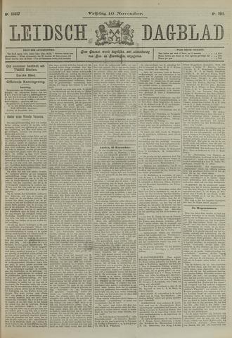Leidsch Dagblad 1911-11-10
