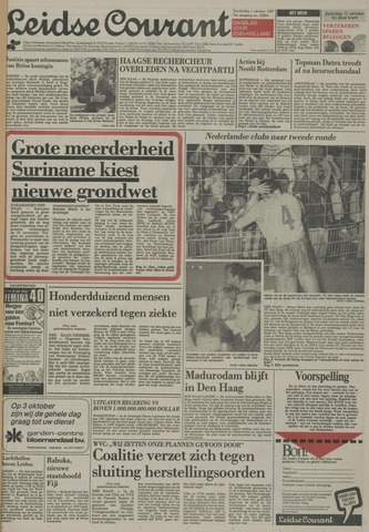 Leidse Courant 1987-10-01