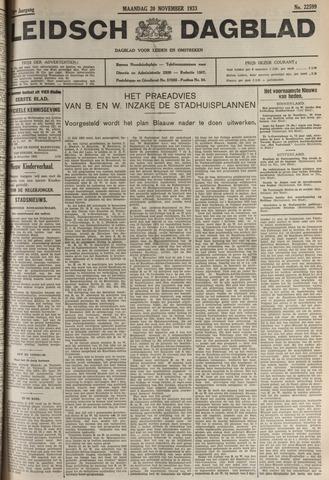 Leidsch Dagblad 1933-11-20