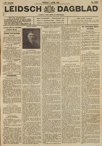 Leidsch Dagblad 1932-04-01