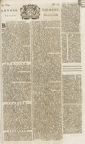 Leydse Courant 1814-09-23