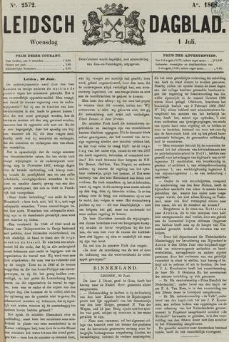 Leidsch Dagblad 1868-07-01