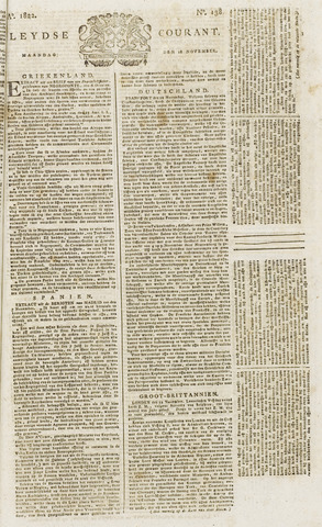 Leydse Courant 1822-11-18