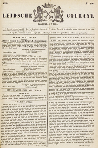 Leydse Courant 1883-07-05