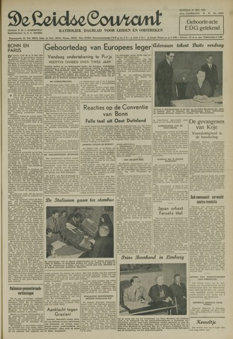 Leidse Courant 1952-05-27