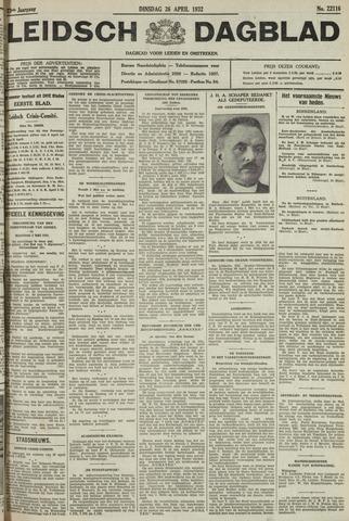 Leidsch Dagblad 1932-04-26