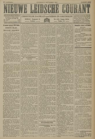Nieuwe Leidsche Courant 1927-09-03