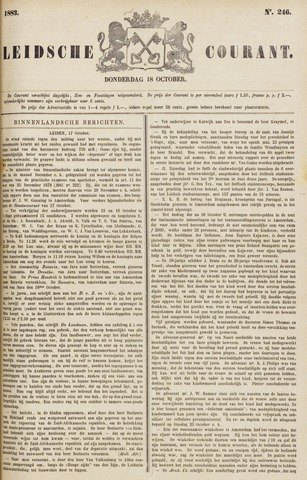 Leydse Courant 1883-10-18