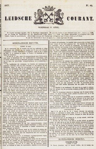 Leydse Courant 1877-04-11