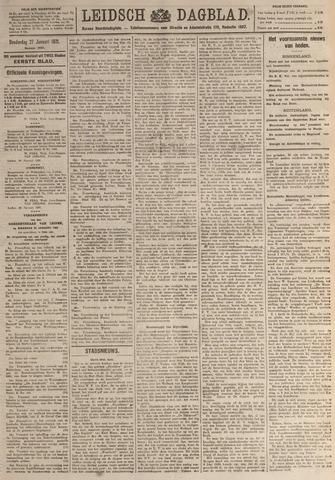 Leidsch Dagblad 1921-01-27