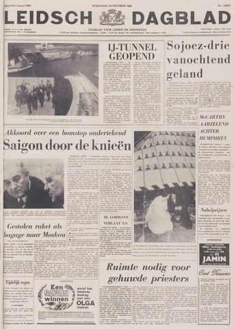 Leidsch Dagblad 1968-10-30