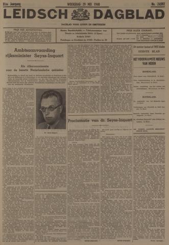 Leidsch Dagblad 1940-05-29