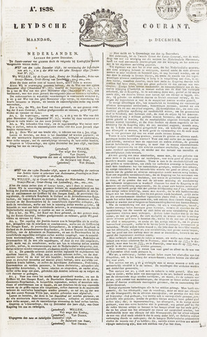 Leydse Courant 1838-12-31